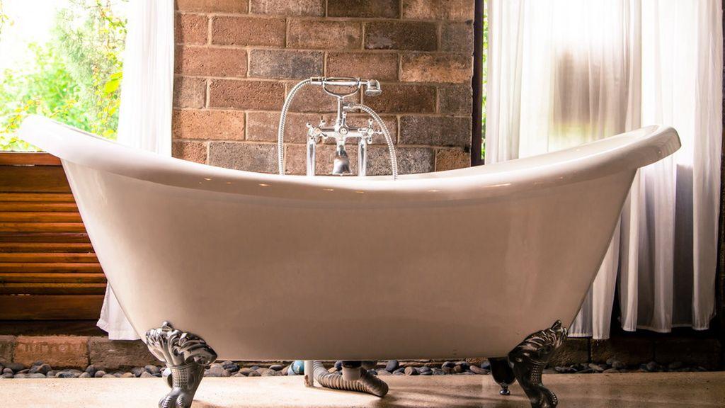 Ванна не должна быть ярким контрастом в общей стилистике