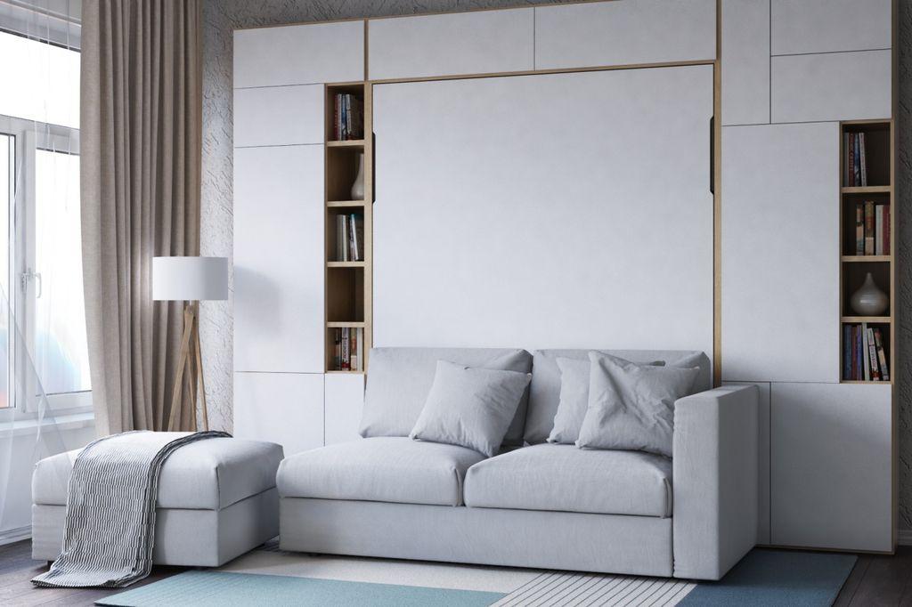 Кровать-диван может раскладываться только при необходимости, а днем использоваться для отдыха