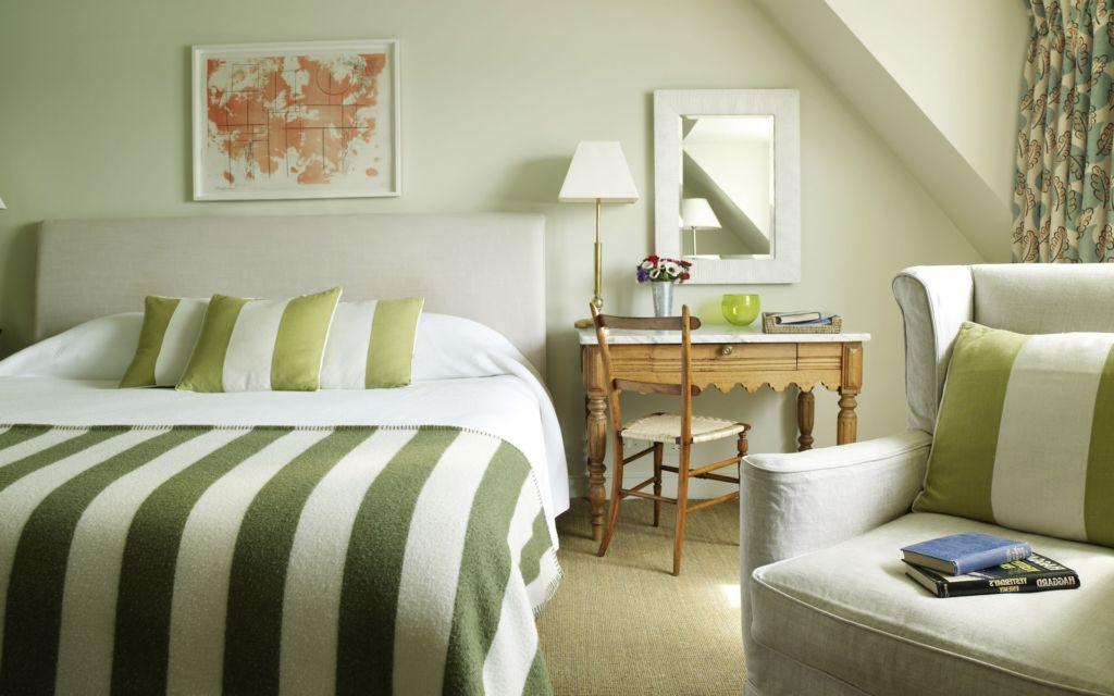 Зеленая спальня – это новые концепции для оформления места для отдыха