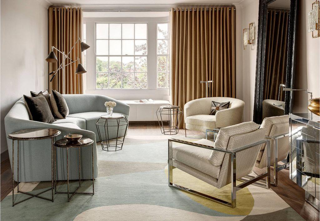 Мебель нейтрального цвета отлично сочетается между собой
