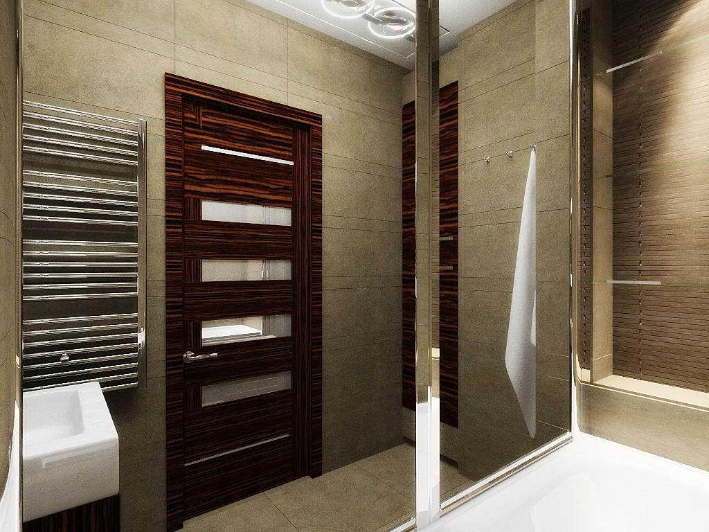При установке дверной конструкции необходимо учитывать частоту использования ванной, что зависит от количества членов семьи