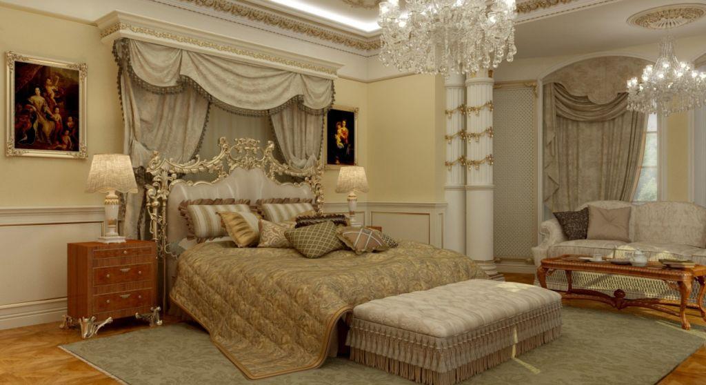 Пристальное внимание нужно уделить выбору спального гарнитура, который должен быть выполнен в светлых тонах