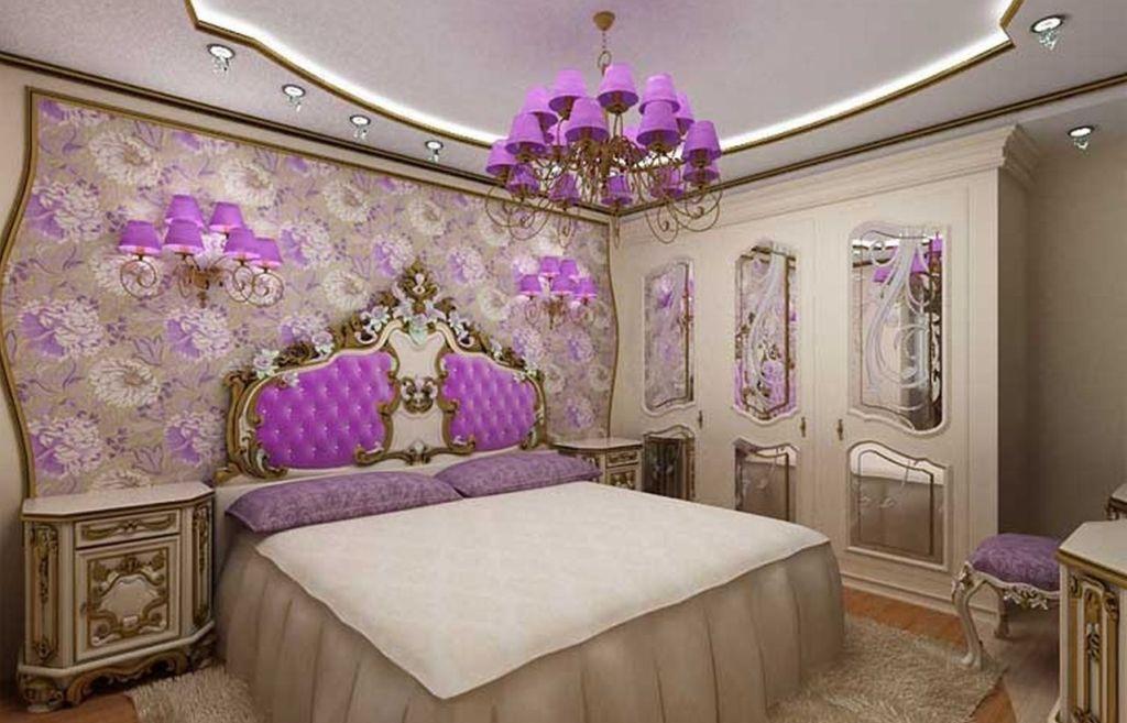 В подобном интерьере не только мебель, но и отделка должна говорить о роскоши и престиже