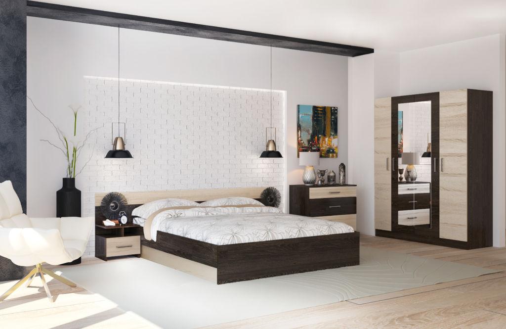 В каком бы стилевом направлении не оформлялось пространство спальни, не нарушайте правила ее меблировки