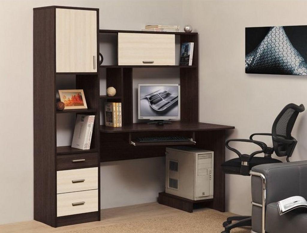 Слишком низкий стол заставит пользователя сутулиться и наклоняться вперёд, а слишком высокий – задирать вверх голову и ощущать дискомфорт