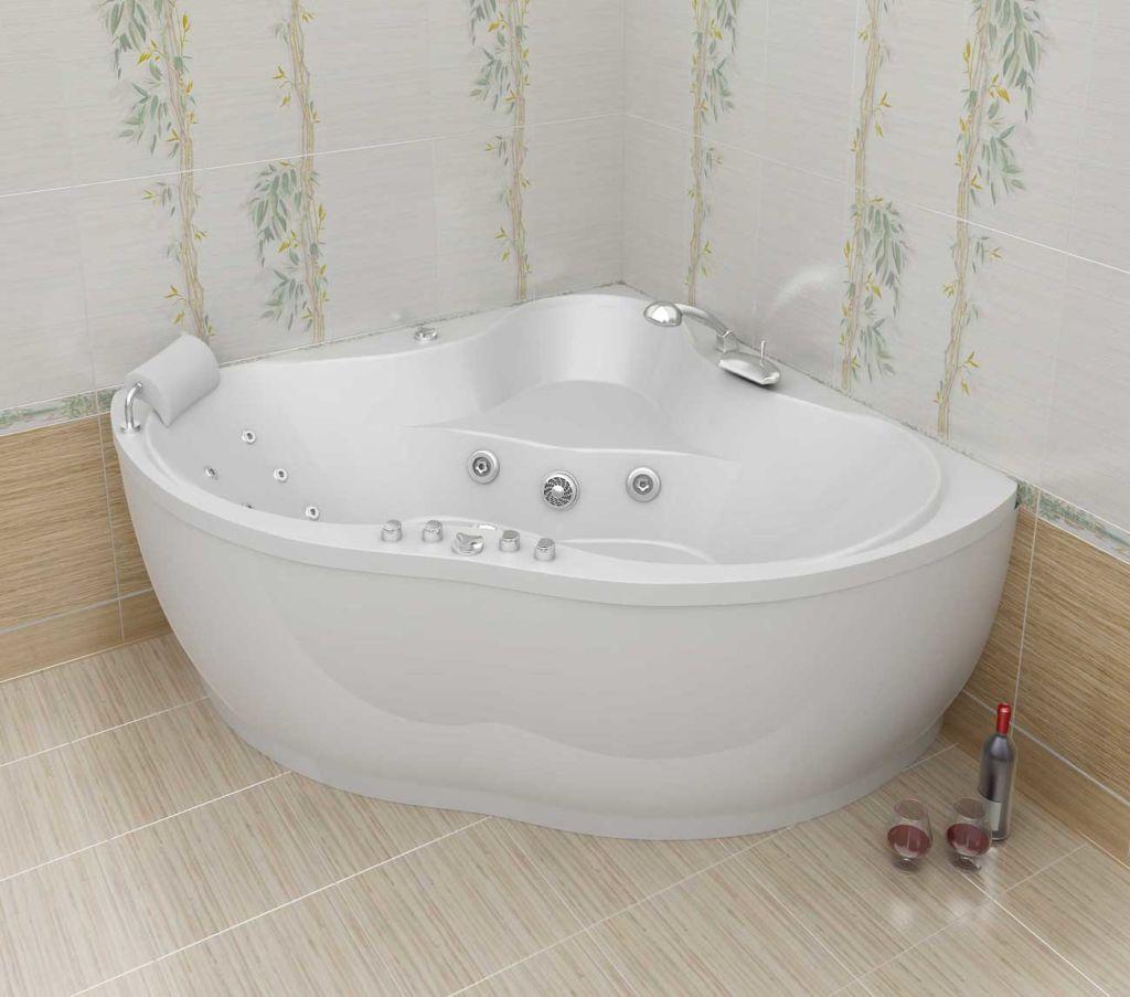 Акриловая угловая ванна – современный подход в обустройстве квартиры или дома