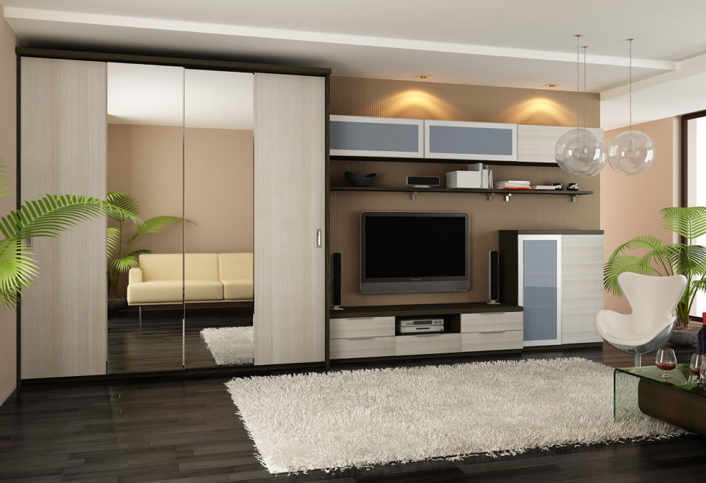 Производители предлагают готовые модели корпусной мебели, встроенные варианты делаются только под заказ