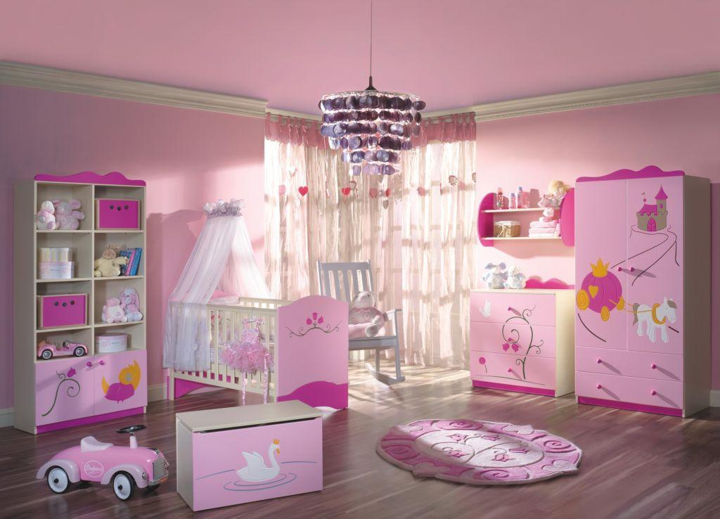 Дизайн спальни для принцессы