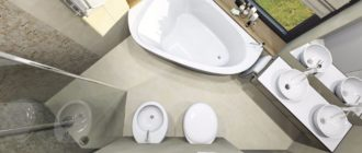 4 стиля, оптимально подходящих для дизайна ванной комнаты с туалетом