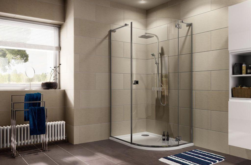 Учитывая размер ванной комнаты, подбирается оптимальный вариант душевой с поддоном или без