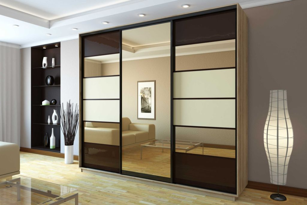 Прямой шкаф - это классическая и самая популярная конструкция в форме прямоугольного параллелепипеда