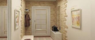 Как отделка декоративным камнем может изменить дизайн прихожей