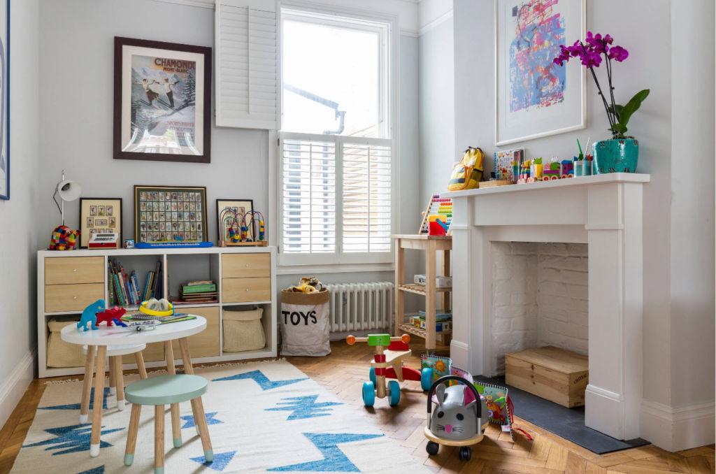Дизайн комнаты должен быть удобным для малыша и просторным