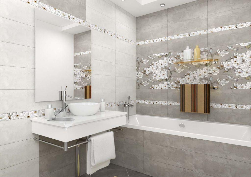 Выбор плитки для ванной — это выбор отделочного материала, а не декора и всего дизайна