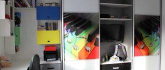 4 вида шкафа-купе, которые можно поставить в детской