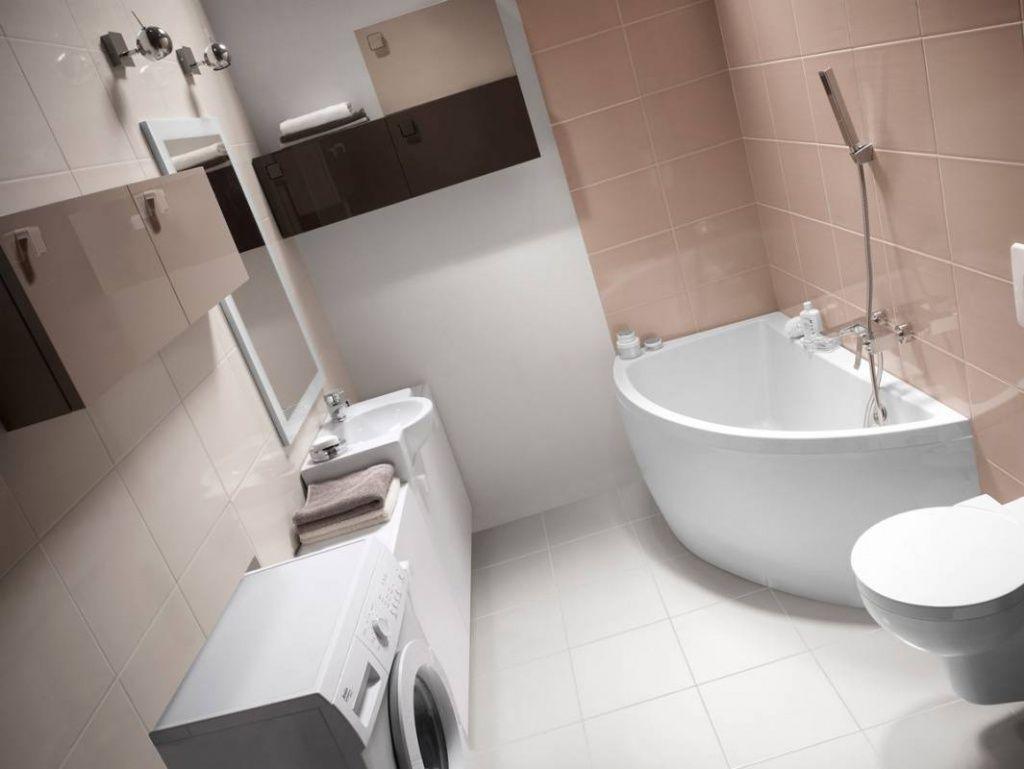 При выборе миниатюрной сантехники, небольшие помещения можно укомплектовать всем необходимым