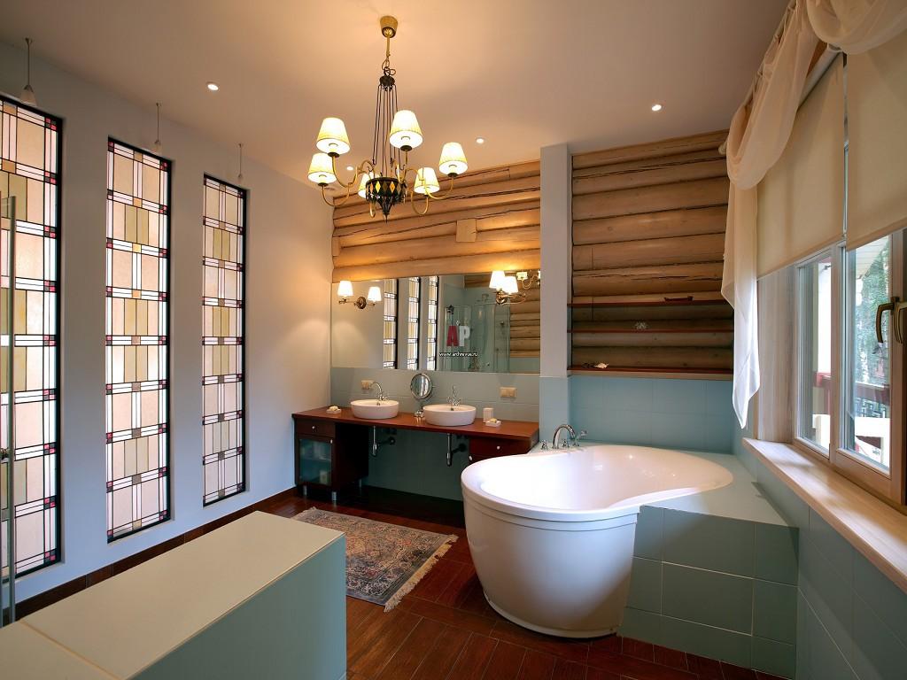 Материалы изготовления мебели — дерево, в сочетании со стеклом или металлом, получается интересные варианты простого дизайна