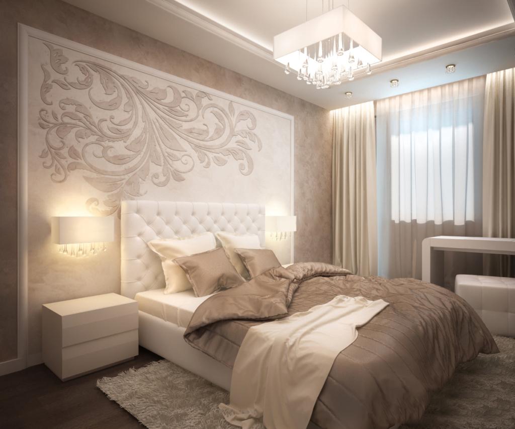 Оптимальные стили для оформления дизайна спальни площадью 12 квадратов (16 фото)