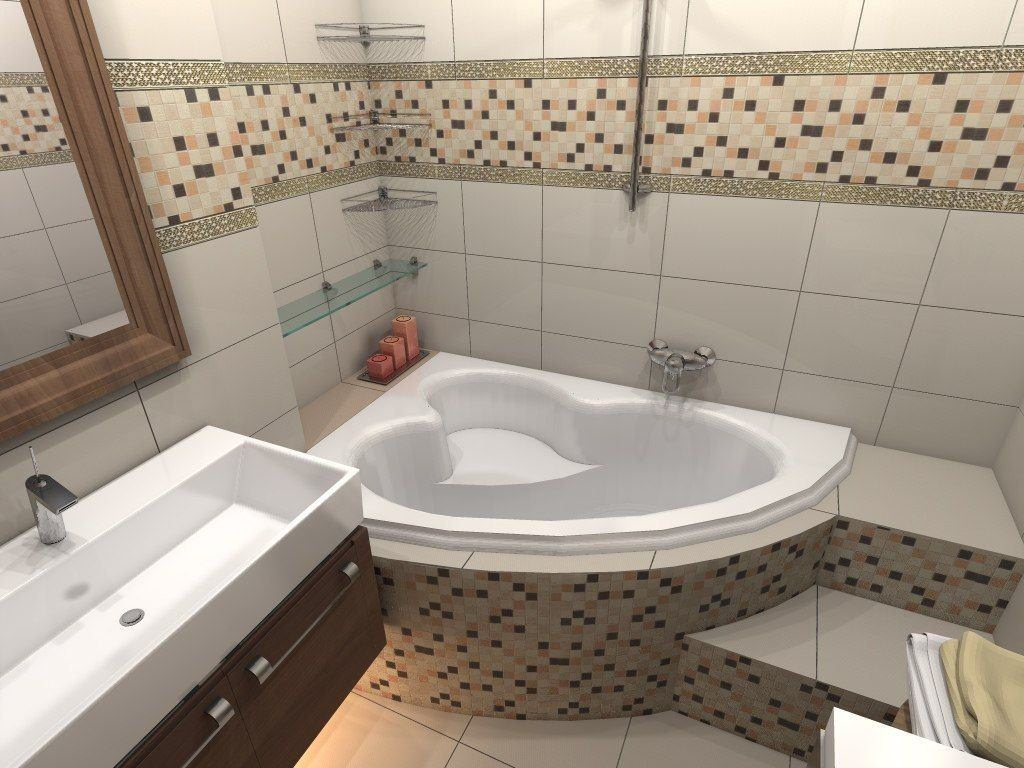 Для наиболее эффективного применения пространства в ванной комнате рекомендуется использовать каждый свободный уголок