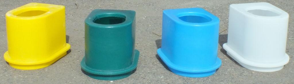 Пластиковый уличный унитаз