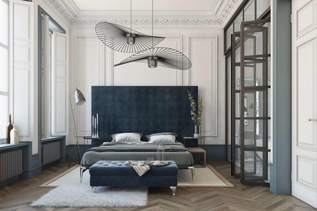 Спальни обставляются во множестве различных стилистик, и выбрать несколько из них довольно непросто