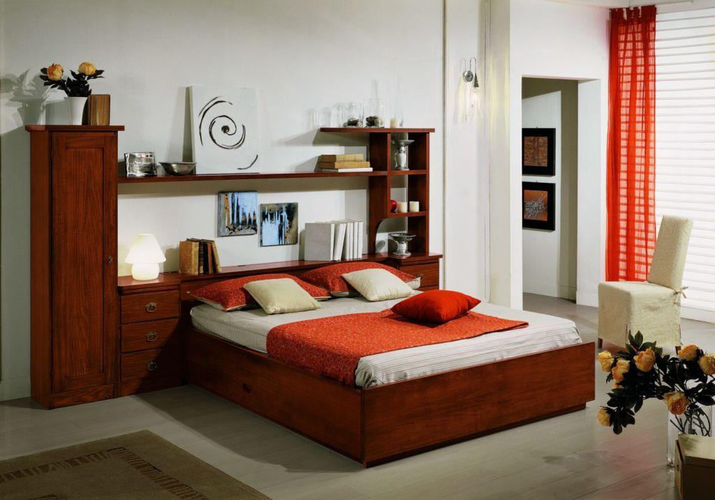 Сколько стилей – столько и вариантов оформления изголовий кроватей
