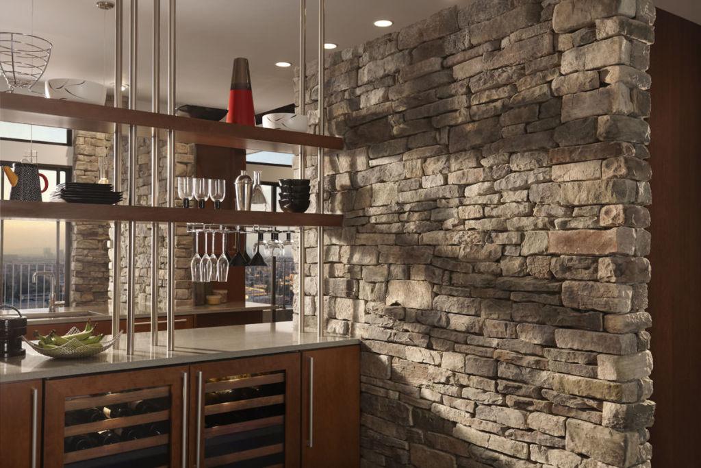 Искусственный камень в интерьере кухни: столешницы, раковины для кухни из искусственного камня