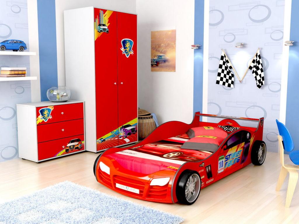 Кровать машинка с детскую