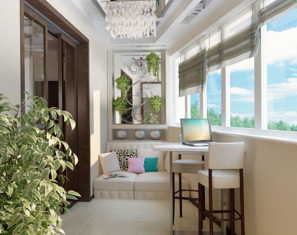 Отделка балкона - сложная и трудоёмкая задача с творческим началом