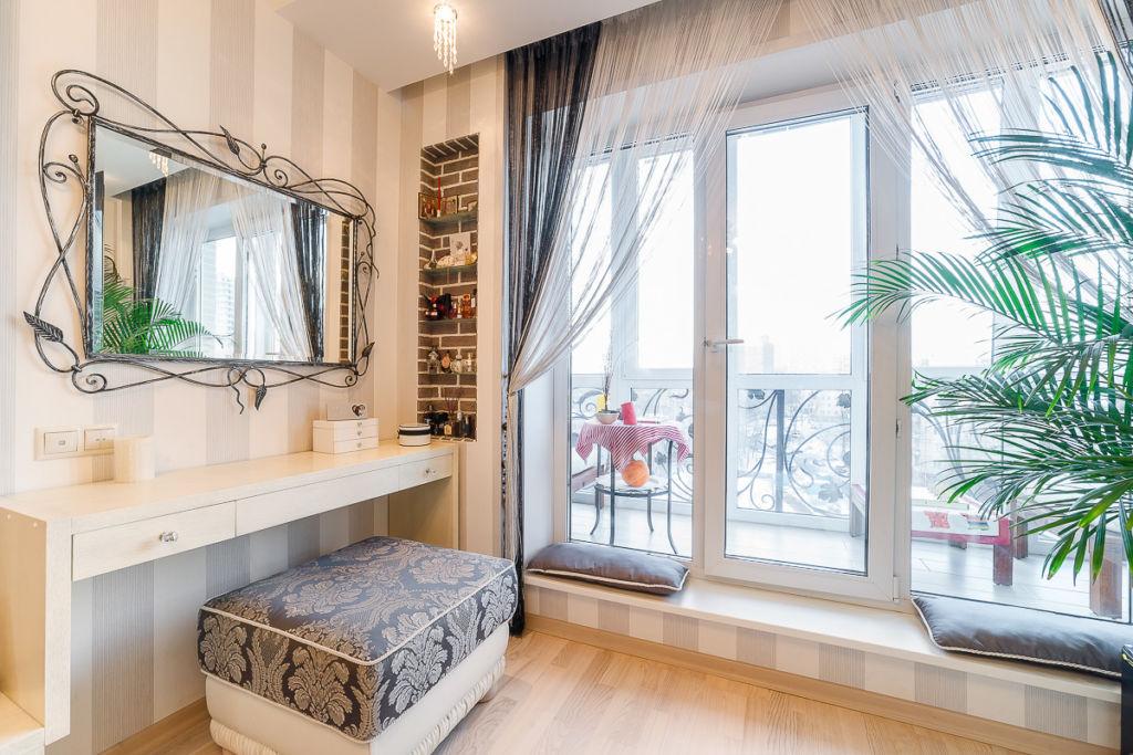 Балконный блок с панорамными окнами