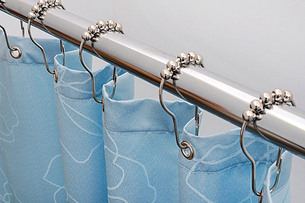 Кольца для шторы в ванну