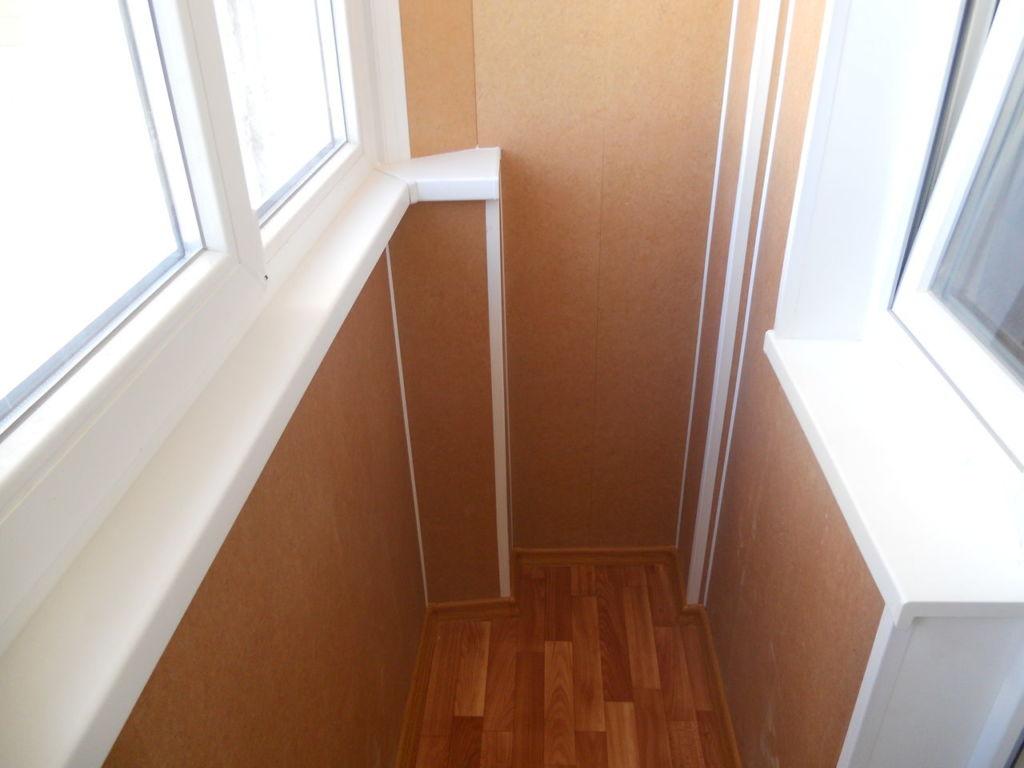 Отделка балкона гипсокартоном – практичный и недорогой вариант ремонта