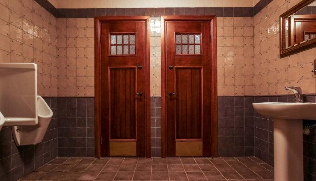 Как выбрать подходящие двери для ванной и туалета