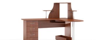 Плюсы и минусы 7 видов компьютерных столов для взрослого и ребенка