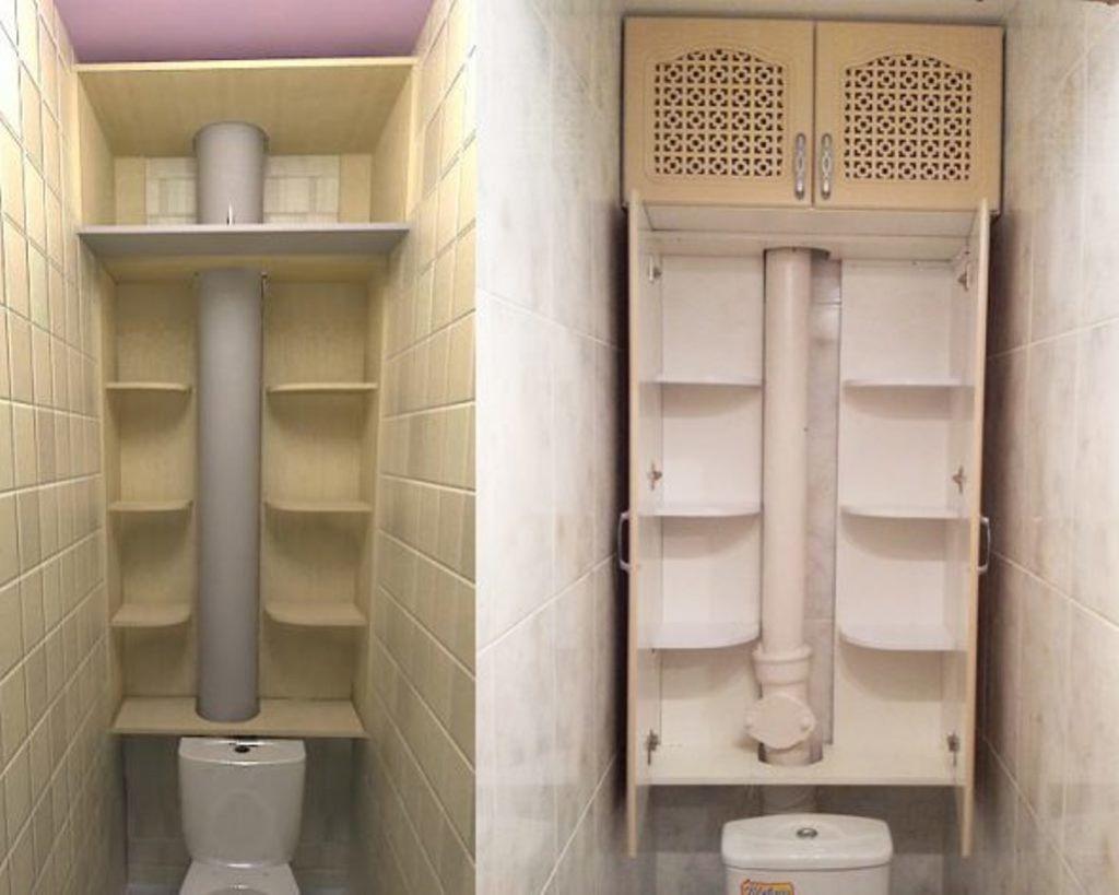 Подготовка к тому, чтобы создать шкаф в туалет своими руками, начинается с проектирования