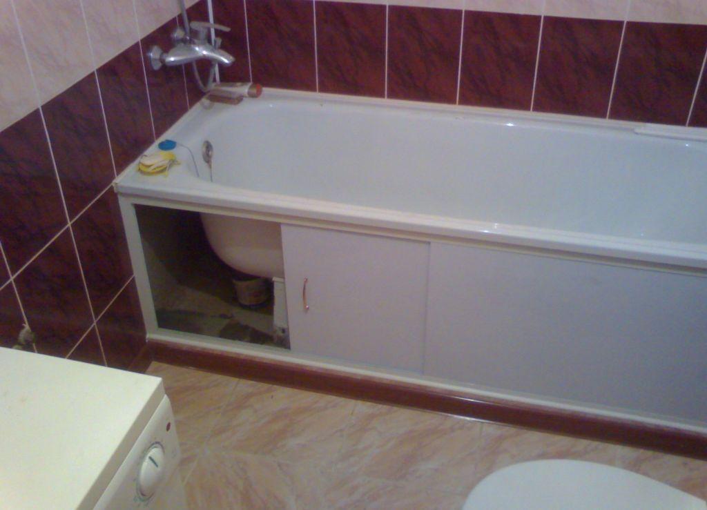 Раздвижной экран для ванной