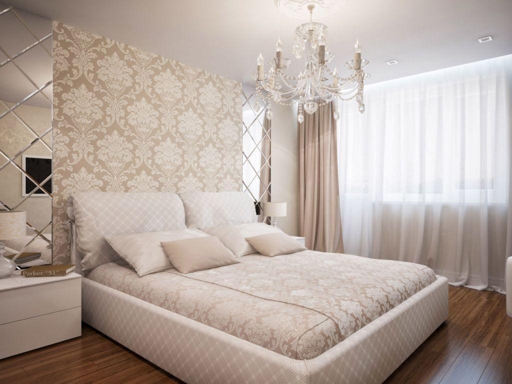 Обои выбирают прочные, из текстиля, они придадут комнате самый богатый и стильный крутой вид