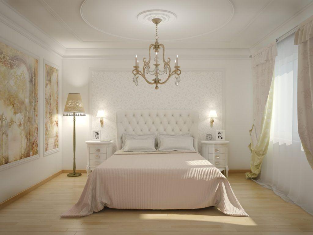 В классическом стиле хорошо сочетается белый, бежевый и золотистые оттенки