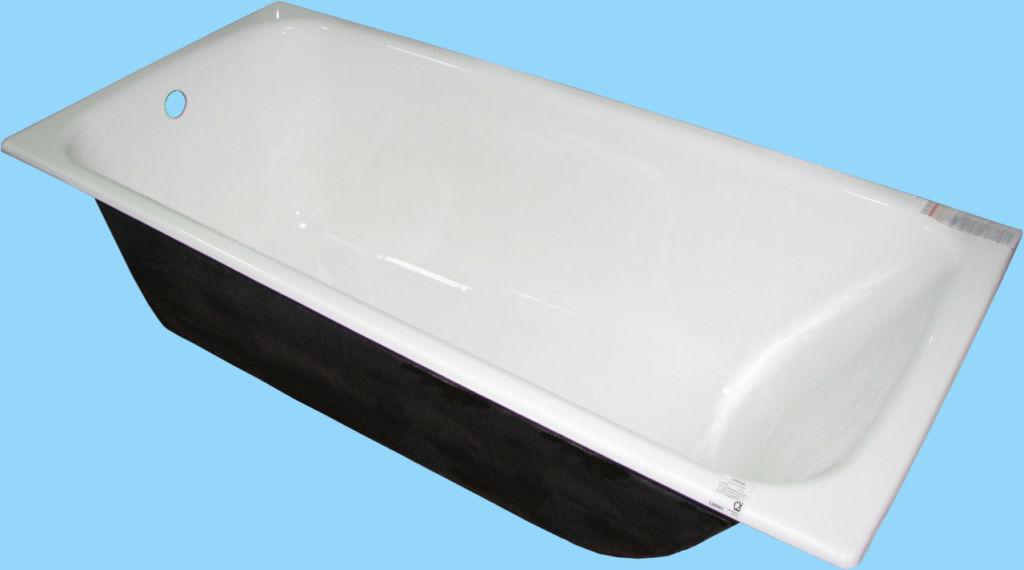 Прямоугольную чугунную ванну можно было встретить в любой советской постройке