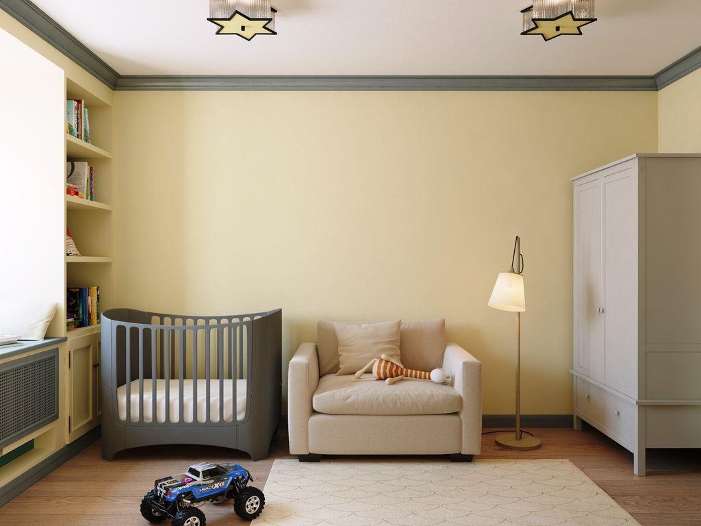 Цвет стен в детской