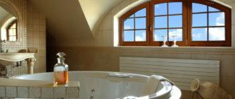 4 стиля, в которых можно оформить ванную комнату с окном
