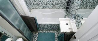 6 оптимальных стилей для дизайна ванной комнаты площадью 4 квадратных метра