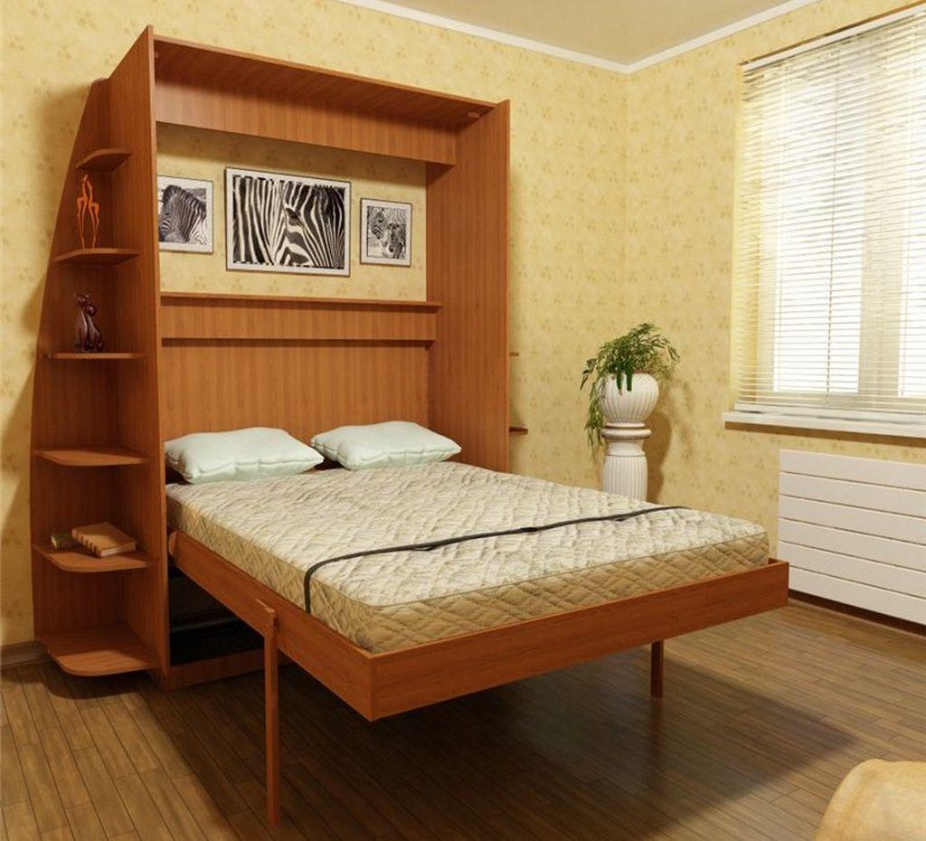 Для небольшой комнаты очень уместны кровати-трансформеры