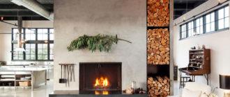 Пошаговая инструкция, как сложить дровяной камин для дома (+схема)