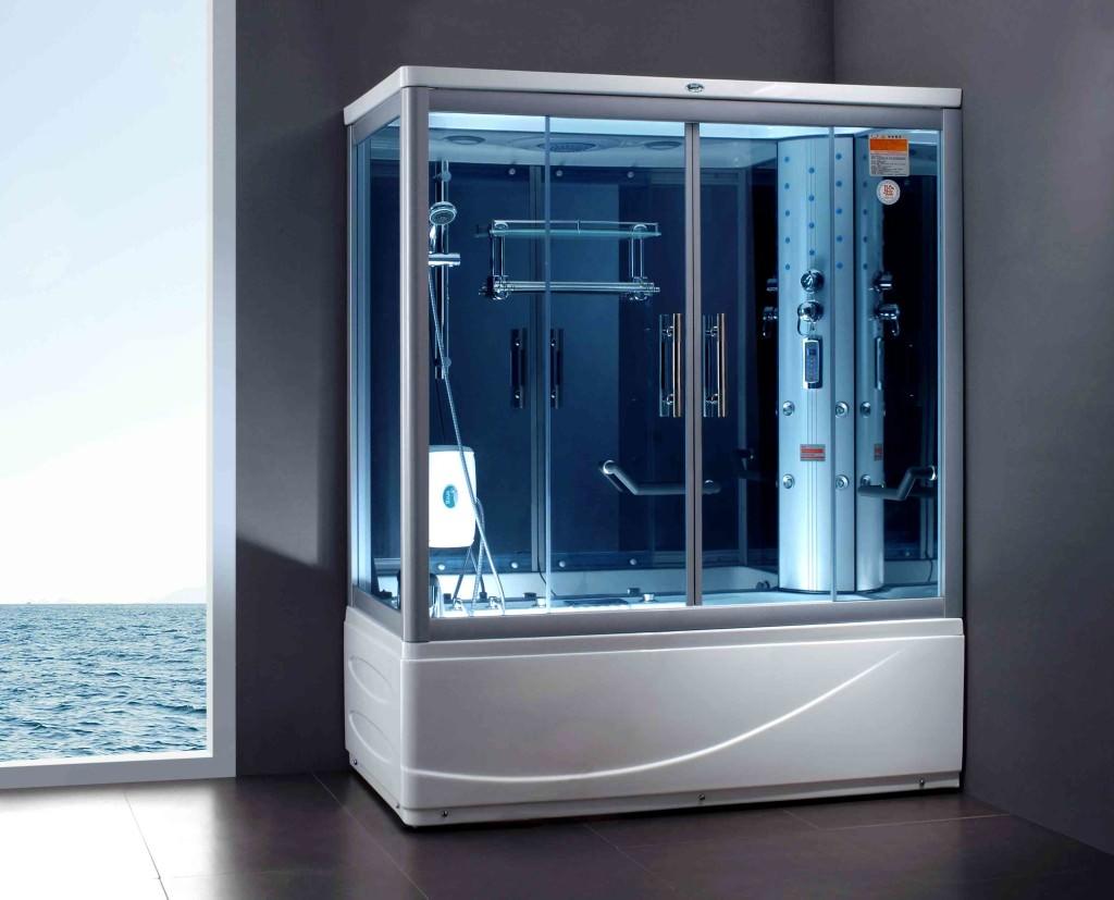 Устанавливать душевые кабины можно в частных домах, квартирах, банях и саунах