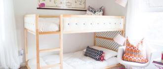 """Подробный обзор четырех моделей двухъярусной кровати от """"ИКЕА"""""""