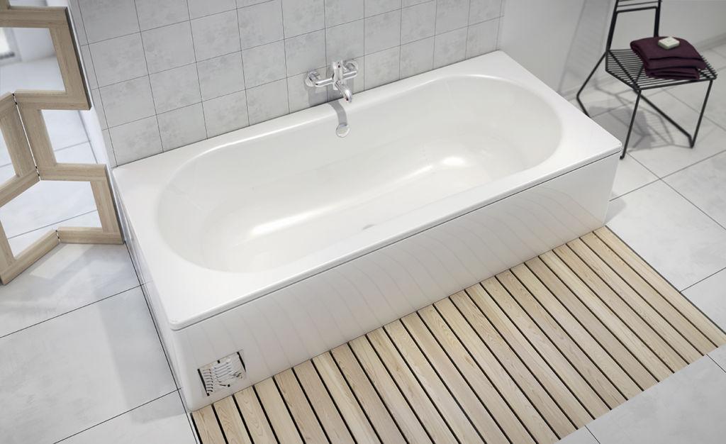 Глухой экран для ванны