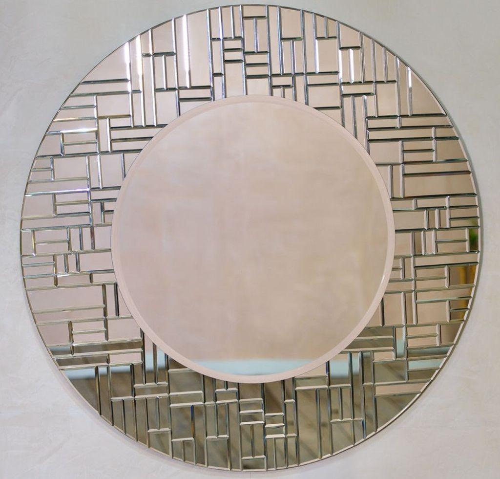 Криволинейная применяется по контуру овальных и круглых зеркал
