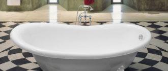 На какой высоте от пола безопасно устанавливать ванну