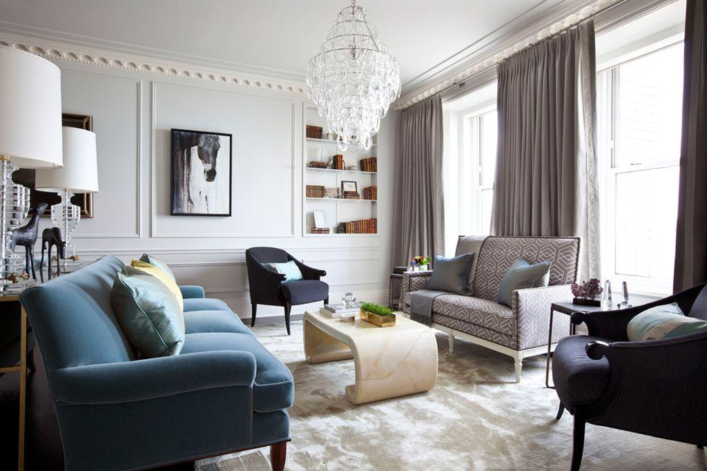 Утонченные и дорогие предметы мебели могут конкурировать с вызывающей элегантностью
